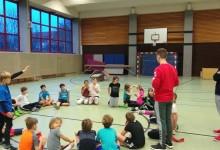 Handball-Projekttag begeistert Moselschüler